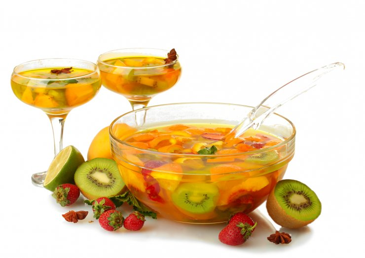 Как приготовить пунш алкогольный в домашних условиях